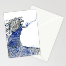 Spreading love Stationery Cards