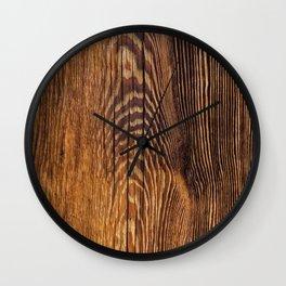 Wood texture 4 Wall Clock