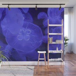 Moon Jelly Fish Wall Mural