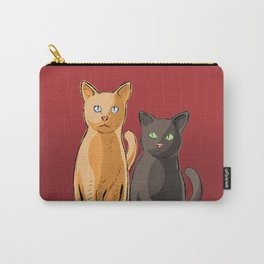 Roommate Cats Carry-All Pouch