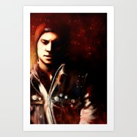 infamous Art Prints featuring InFAMOUS: Second Son by Kate Dunn