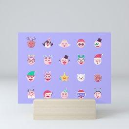 Christmas Avatar! Mini Art Print