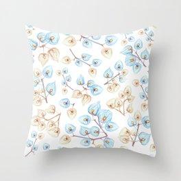 Botanical illustration Throw Pillow