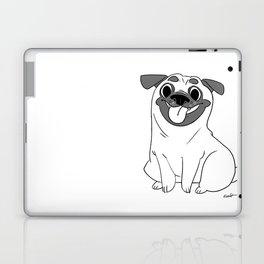 Pug Lineart Laptop & iPad Skin