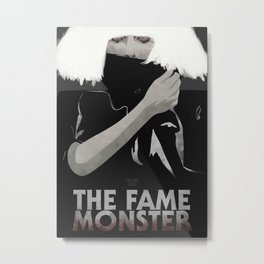 The Fame Monster Metal Print