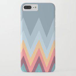 Retro Mountains iPhone Case