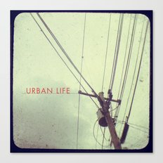 urban life project Canvas Print