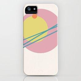 Juxtapose II iPhone Case