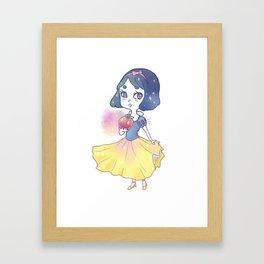Enchanted apple Framed Art Print