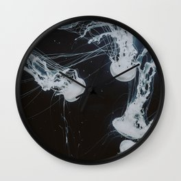 jellyfish ii / valencia, spain Wall Clock