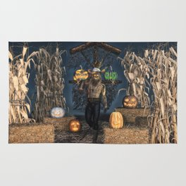 Scarecrow Reaper Rug
