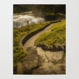 Tranquil World Poster