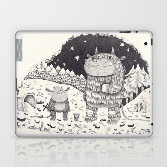 gruffalo Laptop & iPad Skin