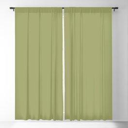 Azalea Heaven ~ Light Pea Green Blackout Curtain
