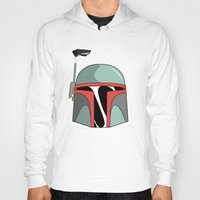 boba fett Hoodies featuring Boba Fett  by Christophajay