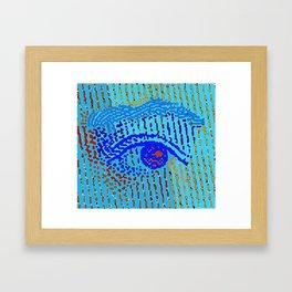 Queen Elizabeths Eyes Framed Art Print