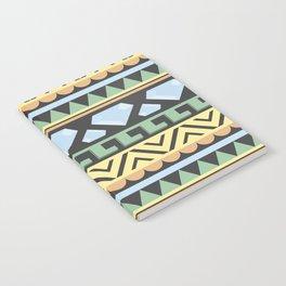 Aztec pattern Notebook