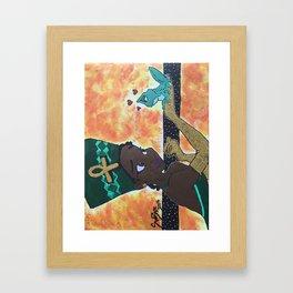 Princess Tiana Framed Art Print