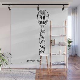 Hannibal the cannibal Sperm Wall Mural