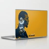 nfl Laptop & iPad Skins featuring Dez Bryant by bonggg