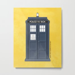 9th Doctor - DOCTOR WHO Metal Print
