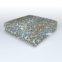 Wildcat Spots Pattern Outdoor Floor Cushion