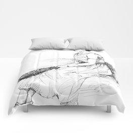 Fashionable Woman Comforters