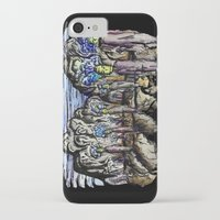 cities iPhone & iPod Cases featuring Cities by Kimmo Rantalainen
