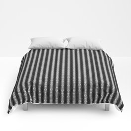 Abstract Tribal Zebra Pattern Comforters