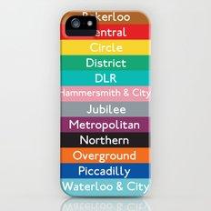 London Underground Slim Case iPhone (5, 5s)