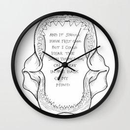 TFB // Twin Size Mattress Wall Clock