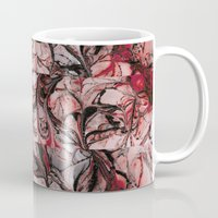 blood Mugs featuring Blood by Iris López