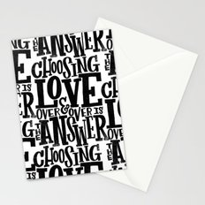 CHOOSE LOVE Stationery Cards