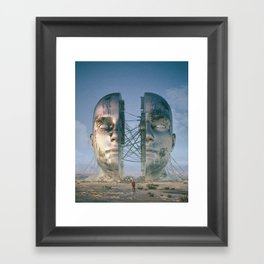 HEADSPACE (everyday 03.31.18) Framed Art Print