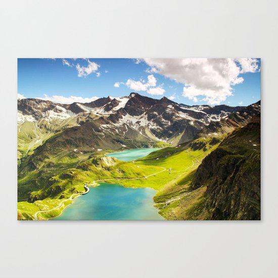 Move Mountains Canvas Print