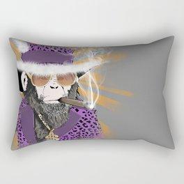 Pimp-Panzee Rectangular Pillow