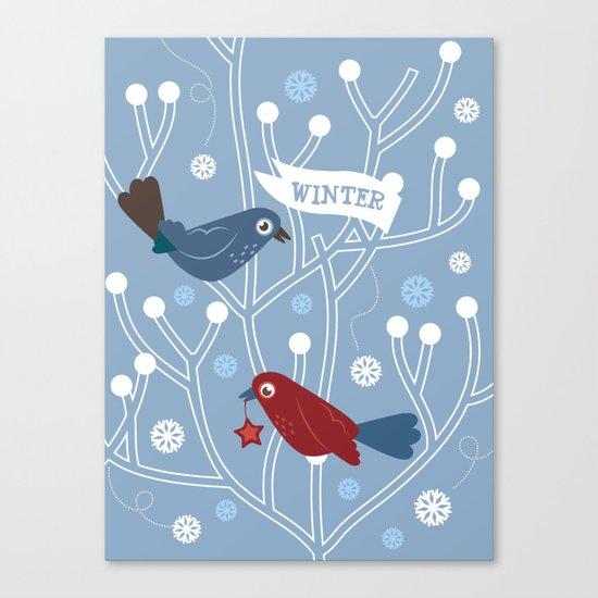 4 Seasons - Winter Canvas Print