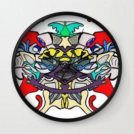 pattern piece Wall Clock