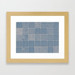 Industrial Container Stack Framed Art Print