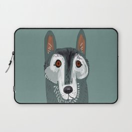 Totem Canadian wolf 2 Laptop Sleeve