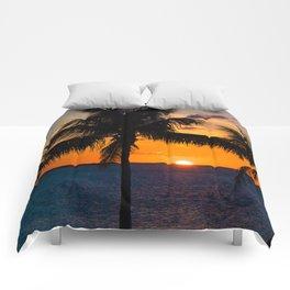Key Largo Sunset Comforters