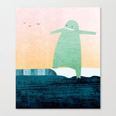 Monster Wave Canvas Print