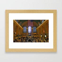 Grand Central Madness Framed Art Print