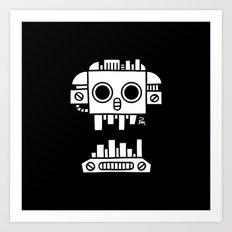 Mechanical Jolly Roger - PM Art Print