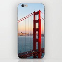Golden Gate Bridge - San Francisco iPhone Skin