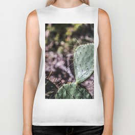 Nature: As Cuddly as a Cactus Biker Tank