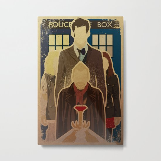 Day of the Doctor Metal Print
