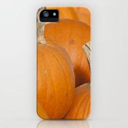Orange Pumpkins for Halloween iPhone Case