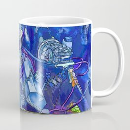 A View of a Motor Car Engine Coffee Mug