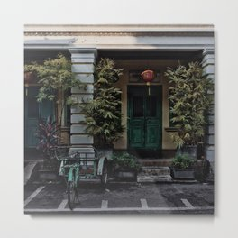STREETS OF PENANG Metal Print